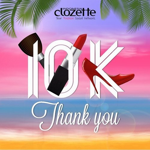 I really do like @clozetteid because Clozette makes sharing more way fun!😆 It's all about everything you need. Fashion, beauty, tutorial, friends and community. I'm so excited when Clozette launching a #ClozetterMeetup event with differences theme talkshow bcz you can meet the members also the ambassador so you can be closer to them and share everything ☺️👭 Clozette isn't only about social network, but also about share, love, joy and laughter 💞💞💞💞 #ClozetteID #Clozette10K