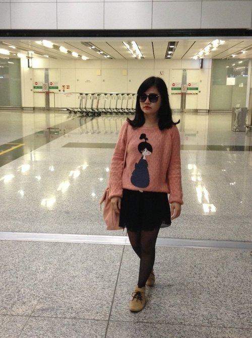 Airport fashion #ClozetteID #COTW #CIDSunglasses