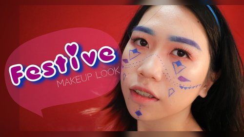 Festival Makeup Look inspired by Pony's Makeup  [ONE BRAND MAKEUP TUTORIAL - REVLON COLORSTAY]