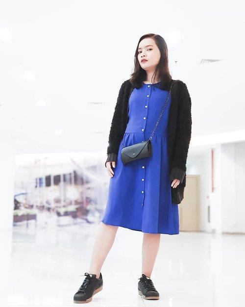 """I dress to impress myself."" — Kanji West  #quoteoftheday #ootdrimaangel #ootdblue #dressblue #kanjiwest #ootd #clozetteid #lovequotes"