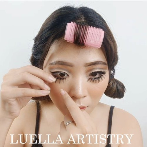 Yihaaa tutorial makeup rusa kemaren nih!.Product details@tasyafarasya almost using all The Needs Palette for this look@artistry_indonesia @artistrystudioofficial Eyeshadow Palette@makeoverid Eyeliner@mehronmakeup black white facepaint@theytalkabout lower lips.@lashesbyjanuary_ Upper LashElise for Lower Lash...🎶 Popsicle - UHSN .💻 Corel Video Studio......#luellaartistry #luellatutorial #deermakeup #deerinspired #deermakeuplook #clozzetebeauty #clozetteid #makeupnatural