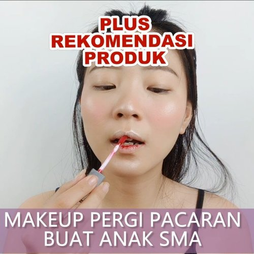 Jangan pake produk yg terlalu berat ah buat anak SMA, kasian kulit nya... Jangan terlalu menor juga ampe jalan ke mall pake full makeup (eyeshadow, bulu mata), kasian nanti pacar dikira jalan ama yang lebih tua 😂.Simpel aja sis, yang penting fresh ya!.Details@hadalaboid Face Mist@lakmemakeup CC cream + Powder@altheakorea Concealer@purbasarimakeupid Brow@inezcosmetics Blush On@makeoverid Lipstick..🎶 De aeseohsta - Honey Popcorn💻 Corel Video Studio.......#luellaartistry #luellatutorial #clozettebeauty #clozetteid #makeupnatural #makeupdaily #makeupkekampus