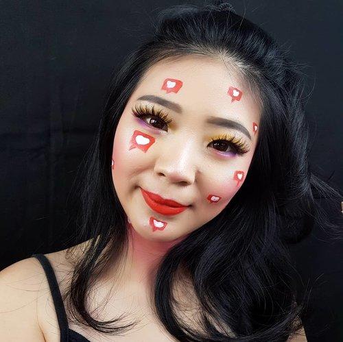 Makeup products 👇Foundation @purbasarimakeupid @purbasari_indonesia Concealer @maybelline Bedak @mustikaratuind Alis @indonesia_etudehouse @qlcosmetic Eyeshadow @nyxcosmetics_indonesia@makeuprevolution Lips @mizzucosmeticsBulu Mata @lashesbyjanuary_ Softlens @zendiixsoftlens .Aku udah bikin full makeup tutorials nya di youtube! Nonton yaak gaeesss 😝Link on bio ❤........#luellamakeup #tampilcantik #instagrammakeup #freshmakeup #indobeautygram #bvloggerid #cchannelbeautyid #beautiesquad #clozetteid #clozzetebeauty #bloggerindonesia #bloggerindo #beautilosophy  #indobeautysquad #beautygoersid  #beautybloggerindonesia #bvloggerid #ragamkecantikan  #beautybloggerbandung #setterspace #bloggerbandung #muatribeid #kbbvmember #bloggermafia #bunnyneedsmakeup #kbbvfeatured
