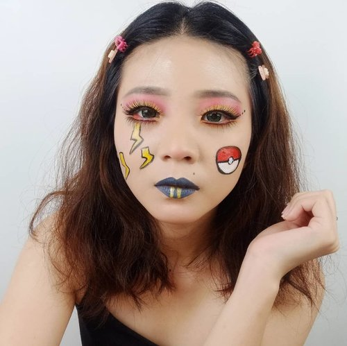 While others want to have a Doraemon to solve their problems. I want a Pikachu to cheer me up in solving mine! . . . . . . . . . . . #luellaartistry #luellamakeup #artsymakeup #luellaartistry #pokemonmakeup #facepaintingideas #pokemonfacepaint #pikachumakeup #koreamakeup #koreamakeuptutorial #kpopmakeup #clozzetebeauty #Clozetteid #beautyvlogger #beautybloggerindonesia #beautybloggerbandung #beautyvloggerbandung #bandungbeautyblogger #bandungbeautyvlogger