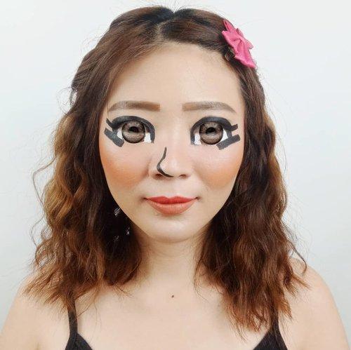 Mii Character - Gamers pasti tau sih apa itu Mii Hahaha... Yg gak tau browsing mbah Google ya! 😜 . . Inspired @abbyroberts @laviedunprince . . . . . . . . . . #luellaartistry #luellamakeup #animemakeuplook #miinintendo #nintendomakeup #miimakeup #colorfulmakeup #artsymakeup #makeuppemula #makeupremaja #makeupnatural #makeuptransformation #tutorialmakeup #beautyvlogger #beautybloggerindonesia #beautybloggerbandung #beautyvloggerbandung #bandungbeautyblogger #bandungbeautyvlogger #clozzetebeauty  #Clozetteid #pride