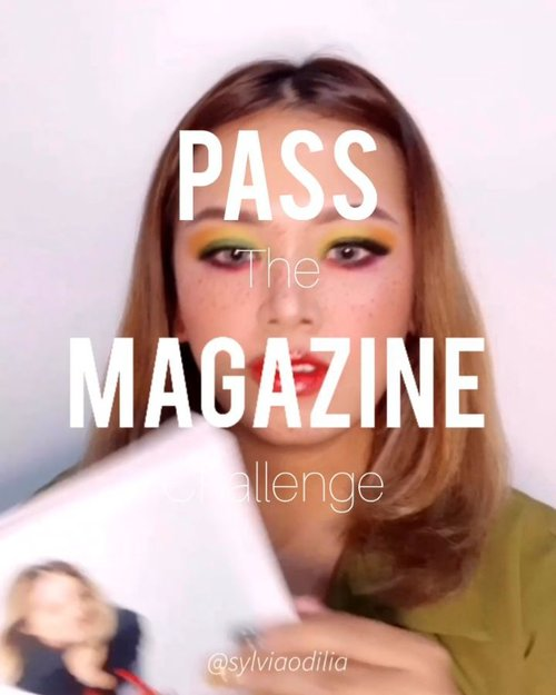 Hellaw happy Friday ppl here's my #PassTheMagazineChallenge with ma editorial squad @bellafryn @tiaradwitaa @shanncarnadi !!!⁣ bosen juga kan #PassTheBrushChallenge⁣⁣⁣Anyway, what's your favorite?⁣⁣⁣⁣#wakeupandmakeup #makeuptutorial #glowingmakeup #ClozetteID #indobeautysquad #ragamkecantikan #beautybloggerindonesia #tampilcantik #ABG #asianbabygirl #egirl #tezzaapp ⁣⁣⁣⁣