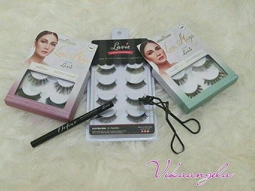 Lavie Lash #Clozetteid #LavieXLunaMaya #Lash #Lashes #Glue #Pink #Green #New #Eyeliner