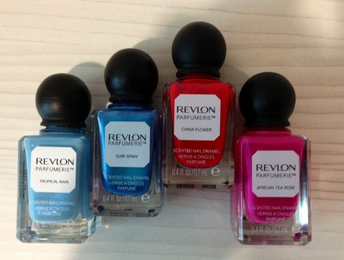 Friends Inspiration - TD awesome nail polish with scent collection.