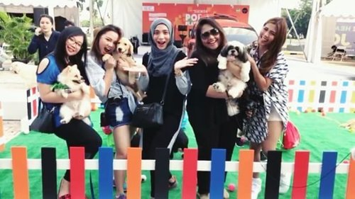 With the girrlss at @toyota.id Sienta Pop Up Playground Dog Jog at Living World!Check out their posts as well❤❤ :@makeupwithselly@miradamayanti @aliciaatheng @feliciamarcellina..#popupplayground #unlockyourplayground #mysienta #beautynesia #beautynesiaxtoyota #toyotaid #toyotasienta #livingworld #beautynesiamember #doglover #instadog #beautyjunkie #beautyjunkies #beautyenthusiast #like4like #instafollow #instalike #instaphoto #instadaily #makeupjunkies #beautyvlogger #beautybloggerindonesia #clozette #clozetteid #indobeautygram #beautyblogger #dogsofinstagram #ivgbeauty #dogevent