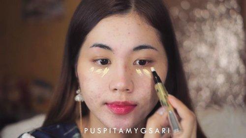 "Menjawab tantangan dari @yuliafirstian aku memilih untuk jadi #TeamGrownUps @jacquelle_official sound on ya supaya bisa denger my honest review💖💖 overall aku suka karena kualitasnya bagus, halus, dan mevvah. Nah sekarang aku tantang @irmafrz untuk jadi team grown ups jugaa! . Makeup : @catrice.cosmetics Anti Dark Circle Concealer, Super Black Liner, Glam n Doll Mascara @focallure Birght Lux Palette @lagirlcosmetics @lagirlindonesia Metal Liquid Lipstick ""Galvanize""  @indobeautygram @indovidgram @tampilcantik  #jacquelle#ivgbeauty #indobeautygram #tampilcantik #beautyjunkie #beautyjunkies #instamakeupartist #makeupporn #beautyaddict #beautyenthusiast  #makeupjunkie #makeupjunkies #beautyvlogger #wakeupandmakeup #hudabeauty #featuremuas #undiscovered_muas #hypnaughtymakeup #clozette #clozetteID"