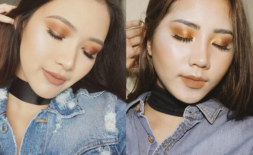 [Puspita, Tangerang] I always love Sara Robert's @sararobert makeup style because she always give a pretty eye look with that flawless finish💖💖 hope I can meet her at @beautyfestasia @vemaledotcom . . *this is a very last minute submission, turns out I took a lot of selfies so beware 😂😂 . #beautyfestxvemale #vemalequiz #recreatelook #recreatemakeup #ivgbeauty #beautyjunkie #beautyjunkies #indobeautygram #selfmakeup #beautynesiamember #beautyenthusiast #makeup #beautyblogger #makeupaddict #beautynesiamember #makeupjunkie #makeupjunkies #beautyvlogger #beautybloggerindonesia #wakeupandmakeup #undiscovered_muas #clozette #clozetteid #beauty