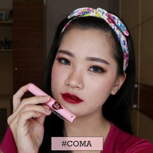 #3CETattooLipTint SwatchesComaWarna yang paling gelap diantara yang lainnya. Tapi kalau sudah makin pudar jadi kelihatan pink 😁. Biasanya aku pakai untuk bagian dalam pas buat ombre lips 😊.Beli di @pinpun.shop dijamin 100% Ori 👍🏻#ClozetteStar #ClozetteID #LiptintKorea #liptinttahanlama #BeautyBloggerJogja #BeautyInfluencer #JogjaBloggirls #JogjaBeautyBlogger #Indobeautygram #Beautiesquad #GengBvlog #bvlogger #wakeupandmakeup #BloggerIndonesia