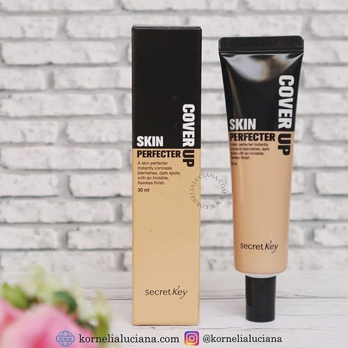 Ayo melipir ke blog, ada review Secret Key Skin Perfecter Cover Up 😎. Ada yang pernah cobain? Atau malah baru denger produk dari Secret Key ini? 😁. #clozetteid #makeupreview #reviewmakeup #LuciMakeupReview #secretkey #makeupkorea #youtuber #youtuberindonesia