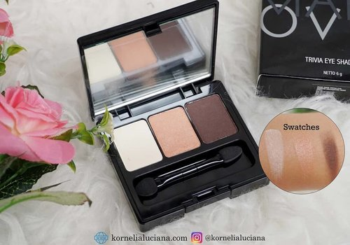 #MakeupReview Buat yang suka eyemakeup natural, ada nih palette mini yg enak dibawa kemana2 trus produk lokal lagi 😊. Baca review lengkapnya di 👇🏻 kornelialuciana.com ya 😊 #clozetteid #clozettestar  #beautybloggerindonesia #jogjabloggirls #BeautyInfluencer  #reviewmakeup #makeupaddict #eyeshadowlokal #makeovertriviaeyeshadow
