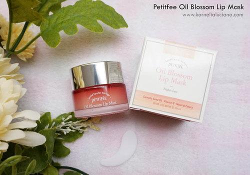 Kornelia Luciana: [Skincare Review] - Petitfee Oil Blossom Lip Mask