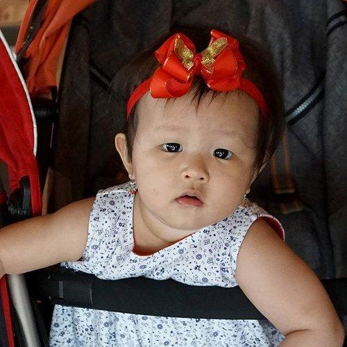 Happy 9months my little princess 😘😘 Mommy and Daddy love you so much 😘😘 #ClozetteStar #ClozetteID #JosephineEloraWonoadi #BabyGirl #Instatoday