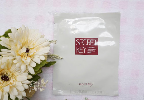 Kornelia Luciana: [Skincare Review] - Secret Key Starting Treatment Essential Mask