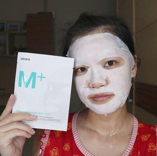 """<div class=""""photoCaption"""">Akhirnya semuanya berjalan lancar, bisa upload tanpa vpn 😂. Anyway, buat yang gak malam mingguan dirumah maskeran aja yuk 😎. Kemarin aku nyobain Charis M+ MADECASSOSIDE CICA MASK. Sheet mask ini mengandung Centella Asiatica Leaf Extract, Madecassoside dan Matricaria Leaf Extract yang dapat memberikan kelembaban, relaksasi dan menjaga vitalitas kulit dengan sangat baik.<br /> <br /> Essencenya banyak banget dan lembaran maskernya tebal terus nempel banget. Selesai maskeran kulit jadi super lembab banget 😍👍🏻👍🏻.<br /> .<br /> Maskernya lagi diskon nih dan bisa dikirim dari Indonesia jadi cepet datangnya 😎👇🏻.<br /> <a href=""""https://hicharis.net/KorneliaLuciana/eIn"""" class=""""pink-url""""  target=""""_blank""""  rel=""""nofollow"""" title=""""https://hicharis.net/KorneliaLuciana/eIn"""">https://hicharis.net/KorneliaLuciana/eIn</a><br /> <br />  <a class=""""pink-url"""" target=""""_blank"""" href=""""http://m.clozette.co.id/search/query?term=CHARIS&siteseach=Submit"""">#CHARIS</a>  <a class=""""pink-url"""" target=""""_blank"""" href=""""http://m.clozette.co.id/search/query?term=CHARISMASK&siteseach=Submit"""">#CHARISMASK</a>  <a class=""""pink-url"""" target=""""_blank"""" href=""""http://m.clozette.co.id/search/query?term=CHARISFACEMASK&siteseach=Submit"""">#CHARISFACEMASK</a>  <a class=""""pink-url"""" target=""""_blank"""" href=""""http://m.clozette.co.id/search/query?term=CHARISFACIALMASK&siteseach=Submit"""">#CHARISFACIALMASK</a>  <a class=""""pink-url"""" target=""""_blank"""" href=""""http://m.clozette.co.id/search/query?term=CHARISMPLUSMASK&siteseach=Submit"""">#CHARISMPLUSMASK</a>  <a class=""""pink-url"""" target=""""_blank"""" href=""""http://m.clozette.co.id/search/query?term=CHARISMPLUSMADECASSOSIDECICAMASK&siteseach=Submit"""">#CHARISMPLUSMADECASSOSIDECICAMASK</a>  <a class=""""pink-url"""" target=""""_blank"""" href=""""http://m.clozette.co.id/search/query?term=CHARISCICAMASK&siteseach=Submit"""">#CHARISCICAMASK</a>  <a class=""""pink-url"""" target=""""_blank"""" href=""""http://m.clozette.co.id/search/query?term=CHARISSTORE&siteseach=Submit"""">#CHARISSTORE</a>  <a class=""""pink-url"""" target=""""_b"""
