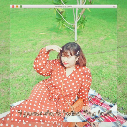 I've been wanting to upload this you guys have no idea.  I know this pose is kinda weird but whatever, I look hot as hell. 👗Vintage polka dress by @poyswear.id  @shoxindonesia #Clozetteid #clozetteootd  #ootdbigsizeindo #fashion #cute #ootdplussize #ootdcurvy #shoxsquad #ootdplussizeindo #curvy #女子高校生ファッション #ファッション #fashionaddict #fashionstyle  #curvygirl #plussize  #bodypositive #celebratemysize #ootdindonesia #ootdindo #curvywomanindo  #influencersurabaya #beautyhasnosize #missbbwindonesia #ootdredhacs #redhacsmixnmatch