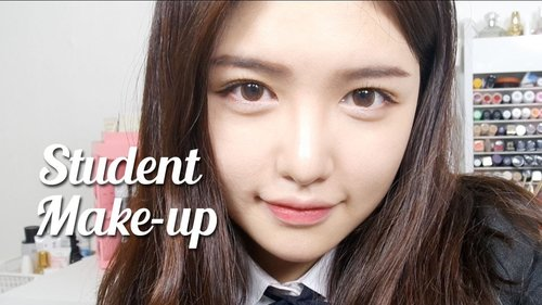 No-make up makeup (Student makeup) | Make up ke sekolah / kuliah