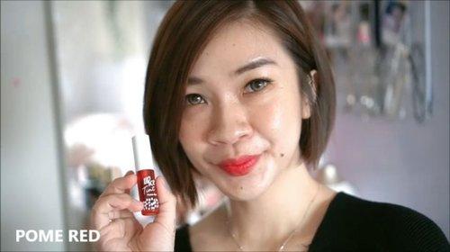 Kalo aku suka banget sama lip tint yang teksturnya ringan dan nyaman seperti @lipice_id lip tint ini, hadir dengan 3 pilihan shades dan 3 warnanya natural dan cocok banget buat remaja.  Untuk review lengkapnya bisa mampir ke channel youtube aku ya, link ada di bio https://youtu.be/V5TiLHwq1sc  #Shantyhuang #beauty #beautyvlogger #reviewliptint #lipicetint #review #Clozetteid #Clozettedaily #instagood #instadaily