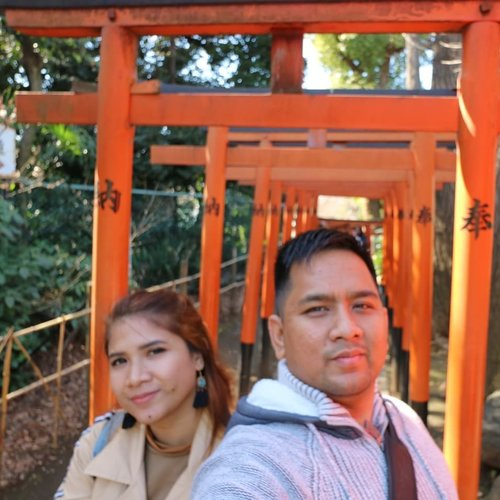My favorite place in the world is next to you @ajisaputra12 😍😍 Apalagi klo diajak jalan-jalan ke Jepang lagi. Pasti aku makin love deh sama kamuuu 😋 ⛩️ #uenopark #japan #holiday #clozetteid #instaholidays #couple #couplesgoals