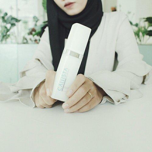 One of my favourite, Callista Serum White Concentrate💙 #CallistaCare #Serum #Skincare
