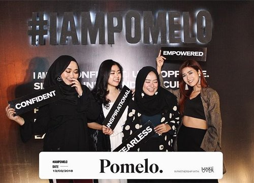 We are @pomelofashion 🖤 Celebrating the launch of #IAmPomelo the summer '18 collection✨ — #ClozetteID #FindYourStyle