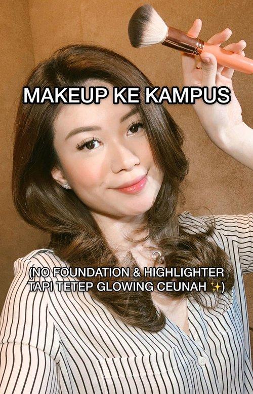 Alohaa beautieees! 👸🏻Kali ini aku kasih tau kalian tutorial Current Daily Makeup aku, yang pasti SIMPLE banget karena aku kalo ke kampus bangunnya mepeettt! Maklum bo, rumah eike jauh dari kampus 😵 Hope u guys enjoyy! kalo ada ide next tutorial apa, comment dibawah ya guys! 🌈.Products used:@bobbibrownid - Instant Full Cover Concealer (Sand)@maybelline - Fit Me Loose Powder (10-Fair, Light)@sascofficial x @harumips @tynakannamirdad @malvava - Perfect Eye & Face Pallete @Minuet.official x @Vinnagracia @Cindercella - Minuet Pallete@Wetnwildindonesia @wetnwildbeauty - Fini Naturel Setting Spray@diormakeup - Tattoo Lip Tint (771)@banilaco_id - Auto Eyebrow Pencil (01)@catrice.indonesia - Brow Definer.@tampilcantik @bunnyneedsmakeup @indobeautygram @beautybloggerindonesia