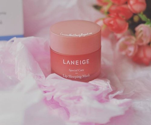 Currently can't live without this #lipsleepingmask from @laneigeid. I am literally free from dried, chapped #lips and I can use liquid #lippies smoothly without having to put lip balm in advance. It smells heavenly like strawberry chewy candy. A def #musthave #lipcare product!Full #review on my #blog: https://curiousaboutbeauty.blogspot.com/ (or click the #linkinbio)#clozettedaily #clozetteID #clozetter #CIDreview #CIDskincare #beauty #laneigelipsleepingmaskreview #skincare #beautyblogger #asianbeautyblogger #beautyreview #skincareaddict #indonesianbeautyblogger #beautybloggerindo #beautybloggerid #beautybloggerindonesia #fdbeauty #abreview