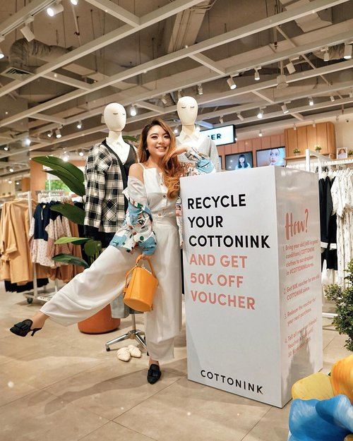 Time to clean up the pile in your closet!! Simply donate your unused @cottonink clothes and get 50.000 shopping voucher instantly! 😍 Visit the nearest store and donate for a good cause now ✨🙌🏻 #RecycleYourCOTTONINK —📸 @steviiewong —#PriStyleDiaries.............#whatiwore #casual #fun #playful #quirky #aesthetic #womensfashion #fashionistas #feminine #ootdbloggers #lotd #bloggerstyle #fashion #wiwt #lookoftheday #styleinspo #instastyle #ootd #styleblogger #blogger #fashionblogger #fashionpeople #fashioninfluencer #style #outfit #stylist #highfashion #clozetteid