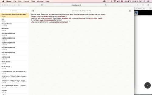 anybody can help me? email di setting belum berubah. :(