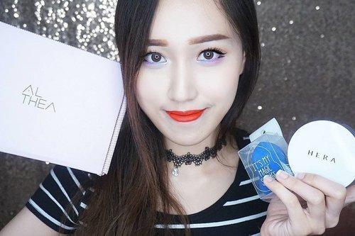 Udah pada baca belum unboxing order @altheakorea ku yang ke-2? Aku juga kasih brief #review tentang produk yang aku order (cushion #Korea yang katanya hits banget dan termasuk brand hi-end, #Hera! + It's My Magic Sponge).😊 Dan ada juga informasi tentang panduan belanja menggunakan aplikasi #Althea yang semakin praktis! 😄  www.jessica-ie.com  #jessieadds #sbybeautyblogger #SBBxAltheaxmas #clozetteid #beauty #makeup #indobeautygram #balibeautyblogger