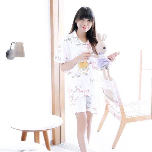 If a woman holds the power to create life, she also holds the power to create the life she wants. - Cute and comfy cow white set pajamas from @starmoon.pajamas. Check 'em out babe ☘️ . . . #clozetteid  #starmoonpajamas #cowpajamas  #comfyclothes  #comfypajamas  #piyamaset  #piyamamurah  #piyamalucu  #tephcollaboration  #piyamadewasa  #influencersurabaya  #influencerjakarta  #influencerindonesia