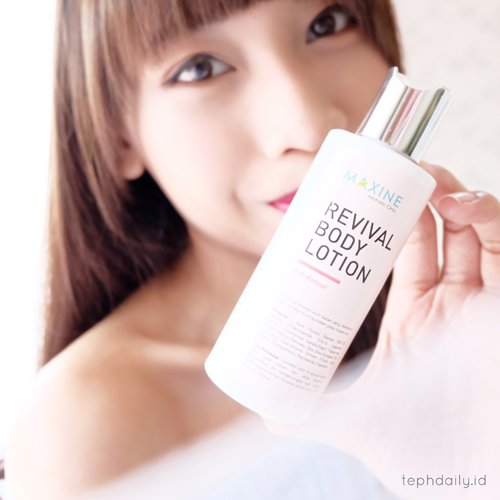 Anti Aging Alert ! - Maxine Revival Body Lotion - Tephie's Daily Life