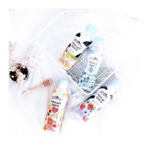 "Wow ! Sekarang Cimory Yogurt Drink banyak variant"" baru loh. Honestly, sampe bingung tu kmrn mau cobain rasa apa aja. Apalagi skrg @cimory_indonesia sudah ada yg low fat loh. Aman kan buat kalian yg lagi pengen jaga berat badan 🙈 - Asiknya lagi, Cimory lagi bikin challenge di TikTok !  Yuk ikutan #JadiAwsem challenge dr @cimory_indonesia di TikTok. Kalian bisa punya kesempatan buat dapetin total hadiah 50jt 😍 #CimoryIndonesia . . . #clozetteid  #cimory  #cimoryindonesia  #yogurt  #yoğurt  #healthydrink  #healthyliving  #healthyfood  #tephcollaboration  #influencersurabaya  #influencerjakarta"
