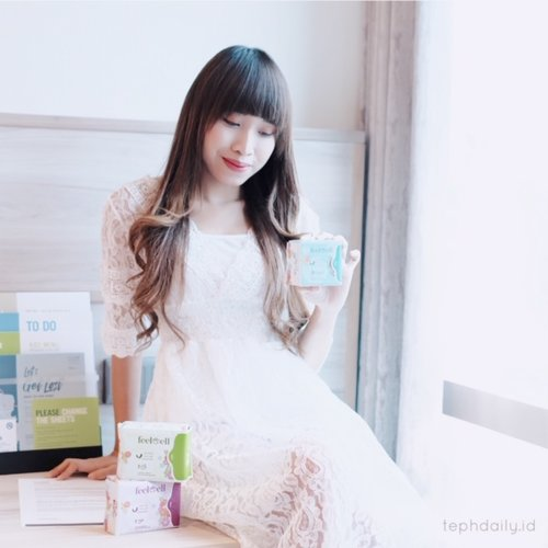 """""""Feel Well"""" During Our Period Time ! - Tephie's Daily Life"""