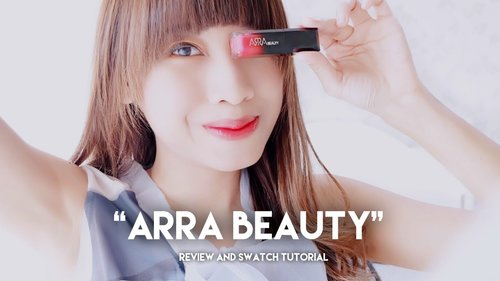 BEAUTY REVIEW #2 - Cobain Lip Cream Anti-aging Pertama [ARRA BEAUTY] - YouTube