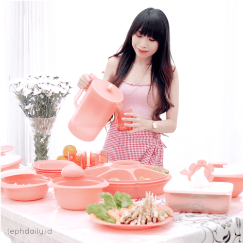 [Tupperware Bloomia Series] - Bring the blossom season to your house - Tephie's Daily Life