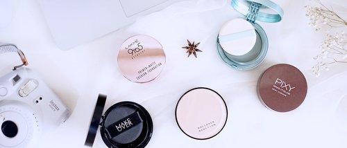 7 Produk Cushion Lokal Under 200K Rekomendasi Beauty Blogger Aquarista Stevie