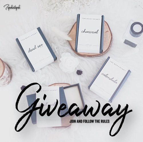 "[G I V E A W A Y] ‼️It's been a long time guys !Finally, aku bisa punya kesempatan buat giveaway lagi. Jangan lupa join yah 🙈.Here's the R U L E S :1. Make sure you following @tephieteph2. Tag 3 of your friends on the comment below and share with me ""patah hati terbaikmu"" 😆-Competition ends on the 29th of June. 1 Lucky winner will be chosen randomly and will be announced on December 30th June on IG Story!-I will give you one set Natural Soap from @thebodyheart and you can choose the variant by yourself..Goodluck Guys 🌻...#clozetteid #tephcollaboration #giveaway #giveawaysurabaya #giveawayjakarta #naturalsoap #giveawayindo"