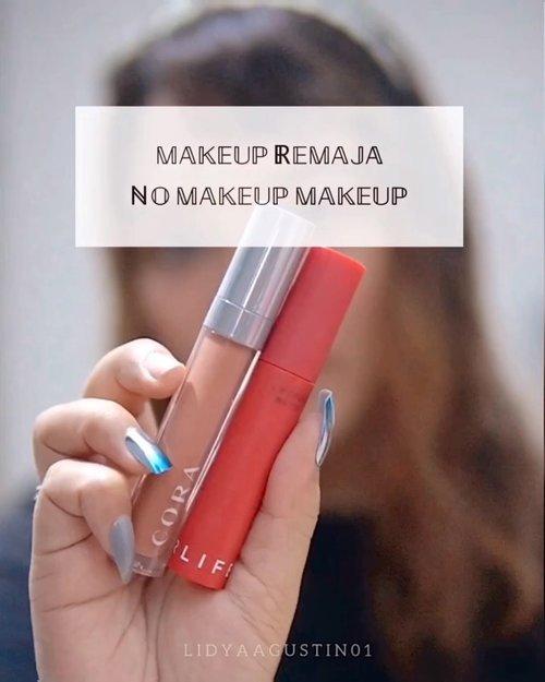 Dandan minimalis gak pakai Foundation / concealer ❗️ .  Gak tau kenapa akhir-akhir ini lebih suka makeup minimalis ala ala remaja, mungkin efek poni 😆 .  Ada bonus snappy nongol suka gangguin org dandan 💖 . . .  #motd #makeup #lidyamakeup #beauty #indobeautysquad #beautyenthusiast #makeuptutorial #makeupvideos #videomakeup #clozetteid #makeupoftheday