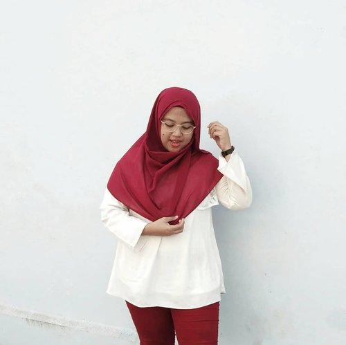 Karena timeline hari penuh dengan merah-putih. Mari ikut meramaikan 🇲🇨 --#clozetteid #dirgahayuindonesia #dirgahayurepublikindonesia