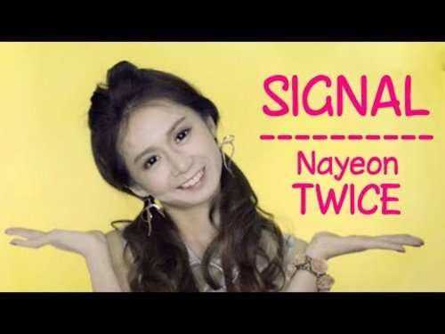 [ENG SUB - INSPIRED MAKE UP] TWICE - SIGNAL by Silvia Muryadi - YouTube