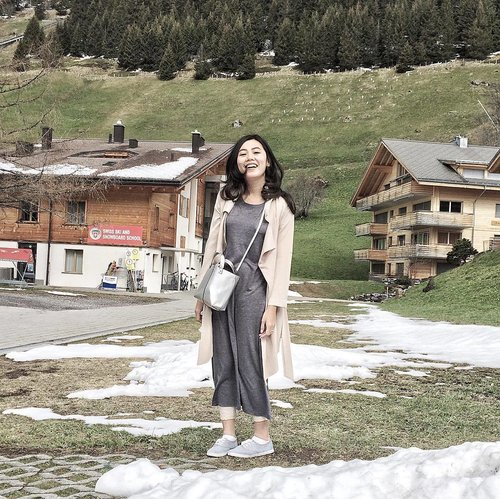 Til next time, beautiful Mürren!  #travelgram #wheninswitzerland #murren #clozetteid #ootd #wiwt #traveldiary