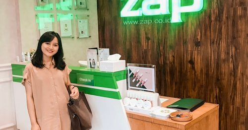 PENGALAMAN PERTAMA TREATMENT PHOTO FACIAL GLOW DI ZAP