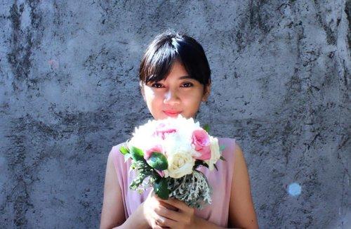 🌷🌷🌷🌷🌷🌷 . . . . . #clozetteid  #clozette  #flower  #flowerbouquet  #floral #pink  #peach  #bloom