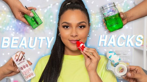 25 Beauty Hacks I ACTUALLY Use! (no gimmicks, just facts) - YouTube