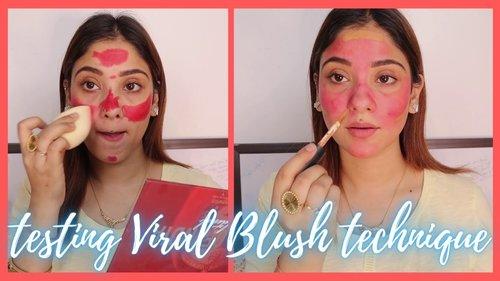 viral blush hack || No its work ?? wrong ???? - YouTube