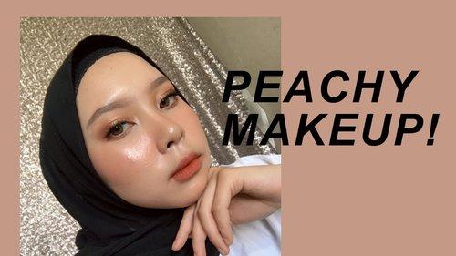 PEACHY MAKEUP - YouTube